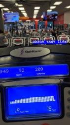 Money Diary Week 37 Gym